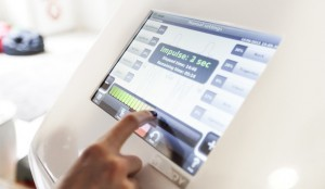 Ems træning Fitxpress touchscreen